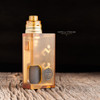 """Proteus Progeks - """"Ultem Door for SQNK Ultem & Final Breed"""". Shown attached to SQNK Ultem Beater Mod, with SQUI RDA, SQUI Ultem Cap, JMK Ultem Madness Machi Ring, 18650 battery, and Dee Mods Ultem silicone bottle for demonstration purposes only. None of these items are included in sale. This sale is only for the Ultem Door."""