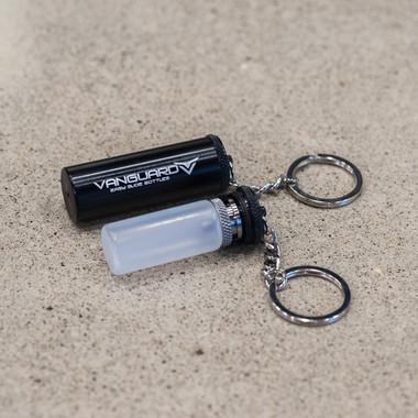 """Vicious Ant - """"Vanguard Keychain"""" Bottle Carrier, Black Aluminum"""