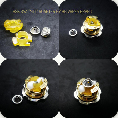 "BB Vapes Brvnd - ""B2K MTL Chamber Reducer Adapter"""