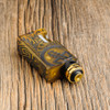 """Proteus Progeks - """"SQNK Final Breed"""" Limited Edition Ultem Mechanical Bottom Feed Squonk Mod shown with SQUI 24K LE RDA attached for demonstration purposes only. Atomizer is NOT included in sale. This sale  is for the mod only."""