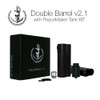 """Squid Industries - """"Double Barrel V2.1 with PeaceMaker Tank Kit"""" (Flat Black)"""