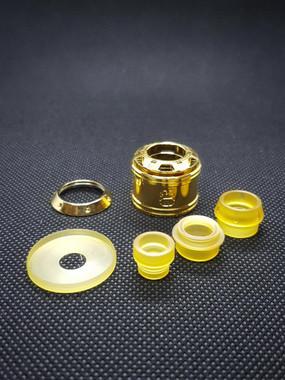 "BB Vapes Brvnd - ""Gold Cap and Ultem Kit for the B2K RSA"""