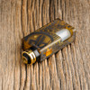 """Proteus Progeks - """"SQUI LE Gold"""" Bottom Feed RDA. Shown attached to Final Breed mechanical squonk mod by Proteus Progeks for demonstration purposes only. Mod is NOT included in this sale. This sale is only for the atomizer and its included accessories."""