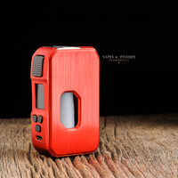 "Towis - ""Aurora, Red"" 80W 21700 / 18650 Squonk Mod"
