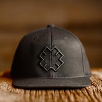 Enushi Wear - Logo Flexfit Flatbill Snapback Cap