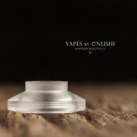 "Bell Vape by Chris Mun - ""Pico Bell Cap"", Polished Style 2 (Short)"