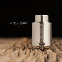 "Kennedy Enterprises - ""The 2 Post Kennedy 25"" Stainless Steel SS Competition RDA Atomizer"