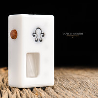 "Octopus Mods - ""L'Octopus White Edition"" Bottom Feed Squonk Box"
