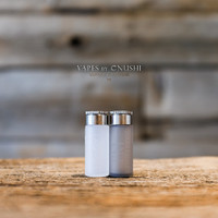 "I'M Infinity Mods x SunBox - ""Cappy V4, SS Cap"", 6mL Silicone Bottle Kit, Stainless Steel"