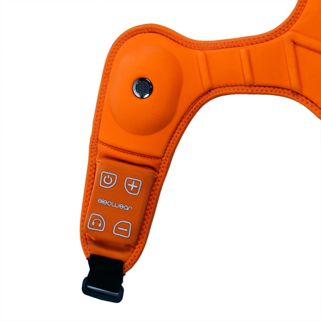 orange Hawk - wearable speaker system