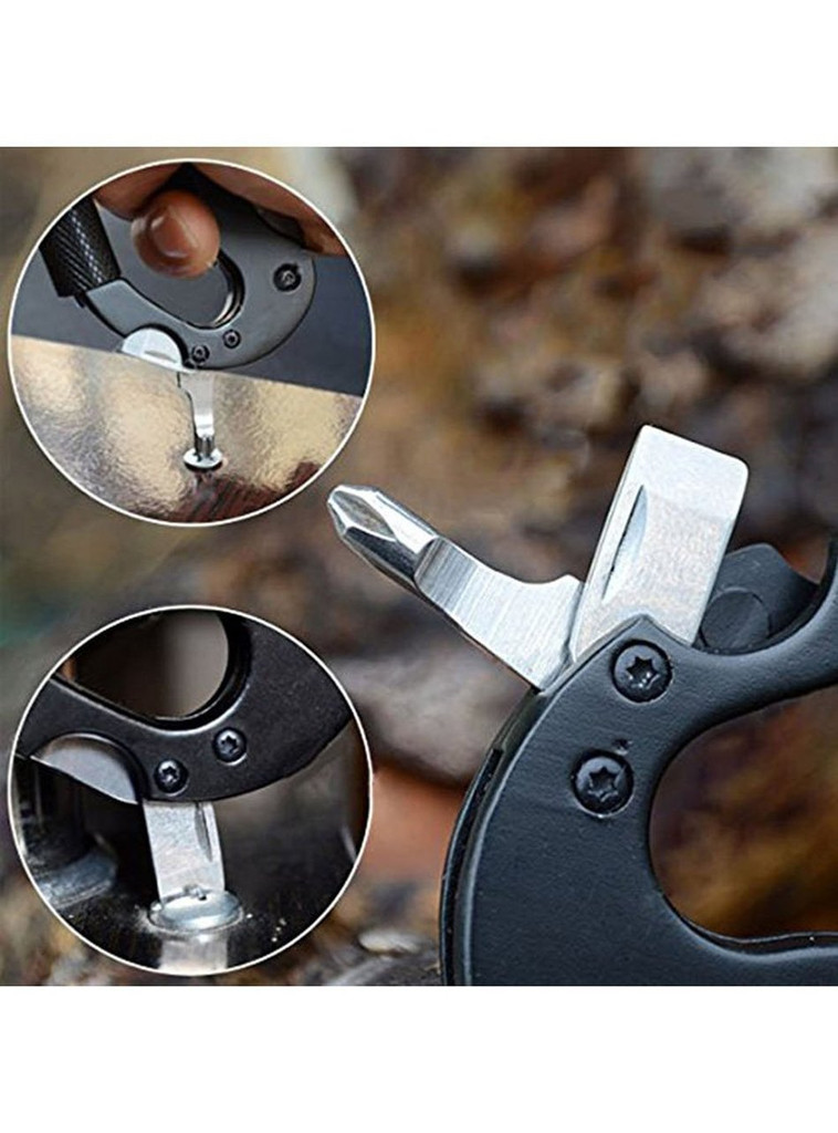 5-In-1 Outdoor Multifunctional Carabiner