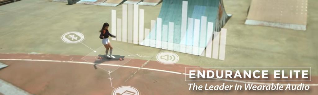 EE Hawk - The Wearable Audio / Skateboarding