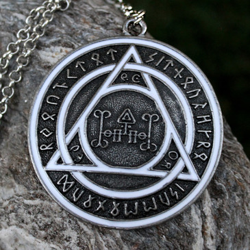 Huge Norse Rune Protection Medallion