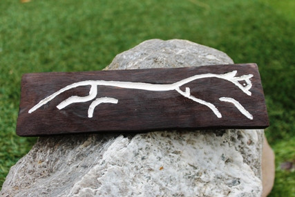 White Horse of Uffington Wooden Wall Plaque