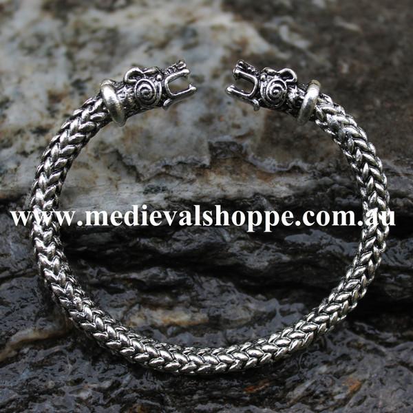 Torc Bracelet. Medieval Jewellery. Australia. Viking. Celtic
