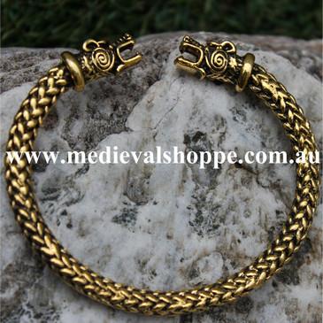 Bronze Torc Bracelet
