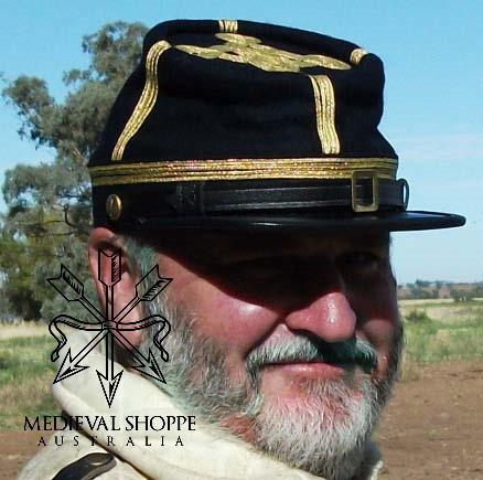 Union Lt Colonels Kepi With Gold Braid