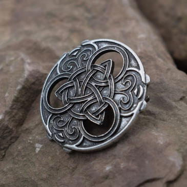 Celtic Triquetra Brooch