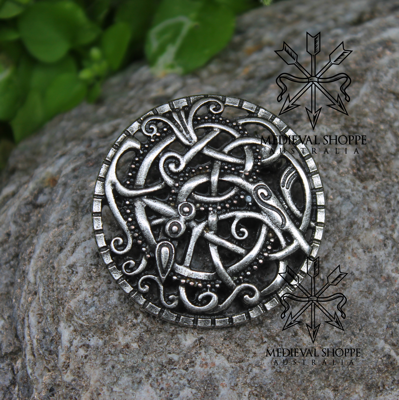 silver product a celtic of brooch scents scotland