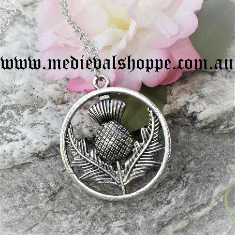 Thistle Pendant (National Emblem of Scotland)