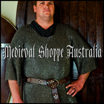 Ultra Fine LARGE Chain Mail Shirt. (Riveted 6mm 18g)