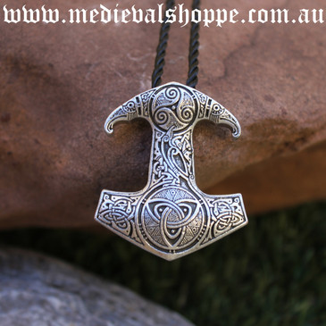 Celtic Mjöllnir - Viking Thor Pendant
