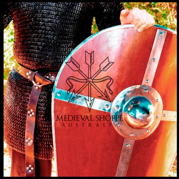 Medieval Kite Shield - for full contact simulated combat & exhibition fighting