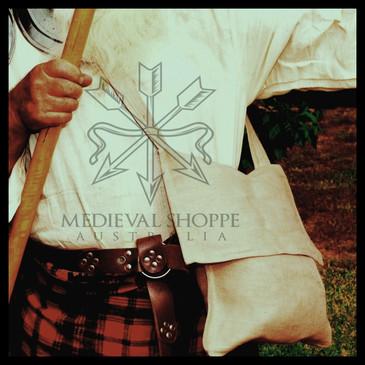 Medieval Style Jute Bag