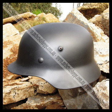 M40 German SS WW2 Helmet, Large Size.