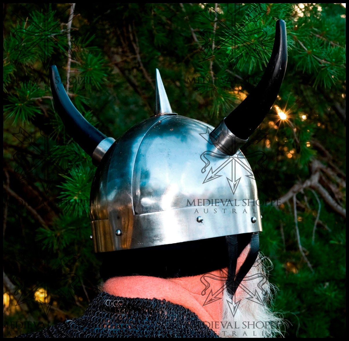 Viking Helmet no Horns Horned Viking Helmet
