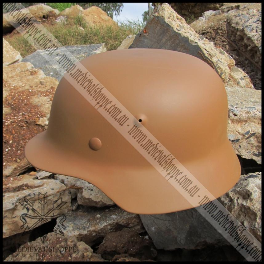 M42 Desert Camouflage (German Afrika Korp) WW2 Helmet