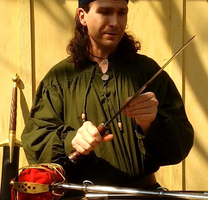 Renaissance Scottish Dirk
