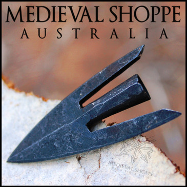 Medieval Broad Tail Point  Arrowhead - MoL Type 16 / Jessop M4