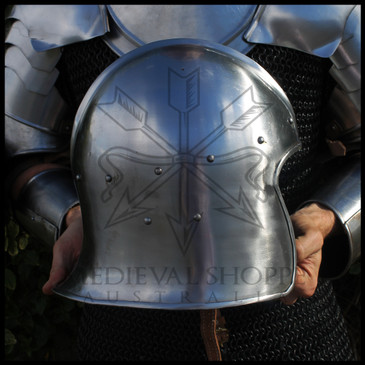 Celeta Helmet (14 Gauge) 15th Century Barbute