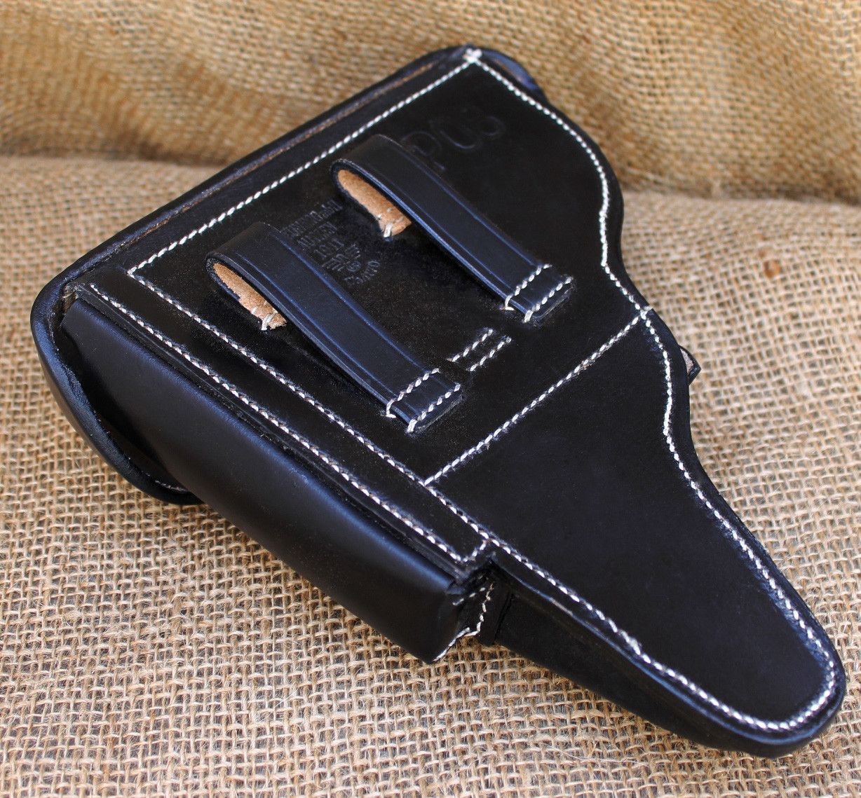 P08 Luger Pistol Reproduction Holster (Leather)
