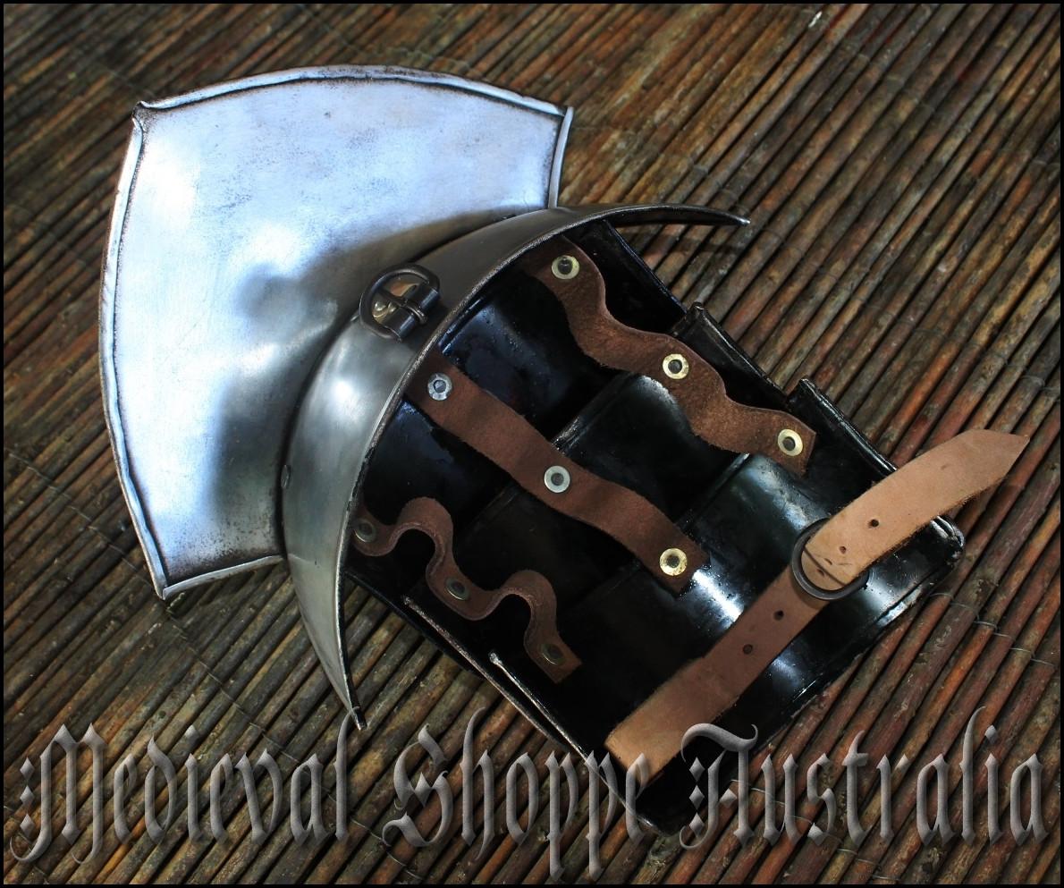 Female Pauldron - Women's Medieval Shoulder Armour