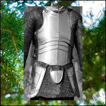 Medium Size Articulated Cuirass with Tassets (16g)