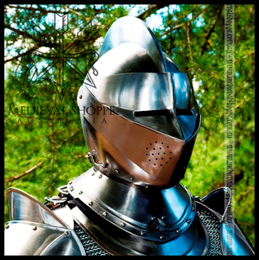 Classic Medieval Knight's Helm (20g)