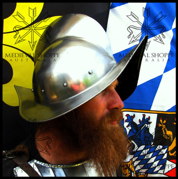 """Spanish Morion """"Conquistador"""" Helmet (20g)"""
