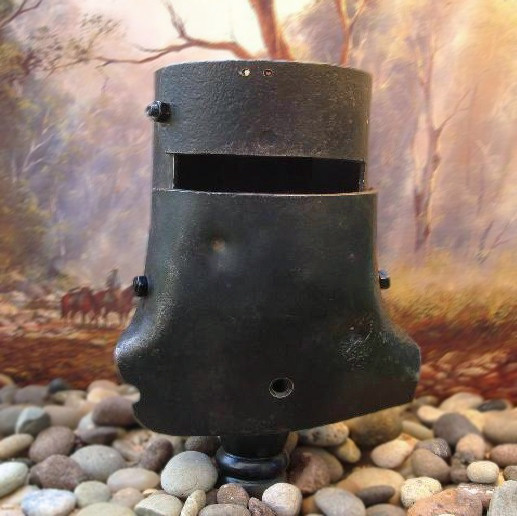 Ned Kelly Miniature Helmet