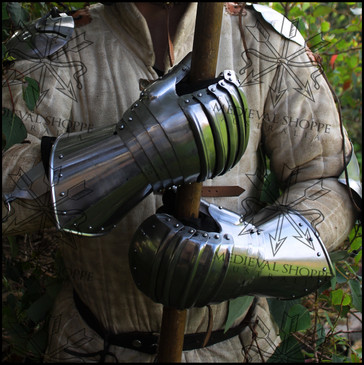 Swiss Medieval Armour Gauntlets