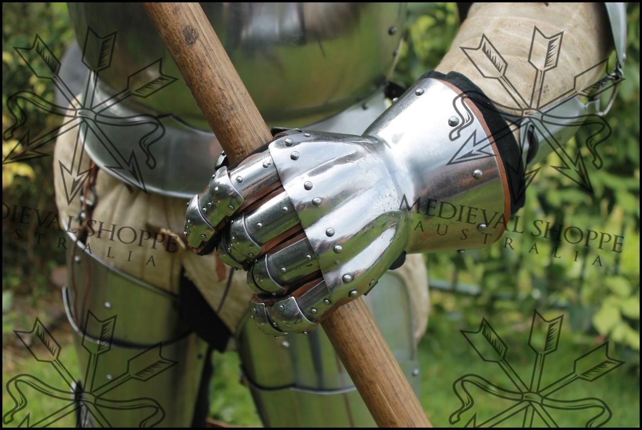 English Hourglass Gauntlets