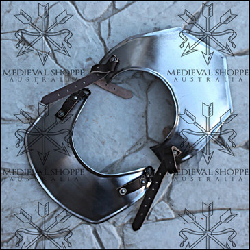 Medium Size Light Gorget with Pauldron Straps (20g)