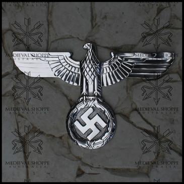 Reichsadler: 3rd Reich National Insignia (Hoheitszeichen) Art-deco Eagle Wall Plaque