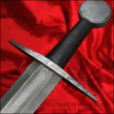 Medieval Damascus Sword - Pattern welded