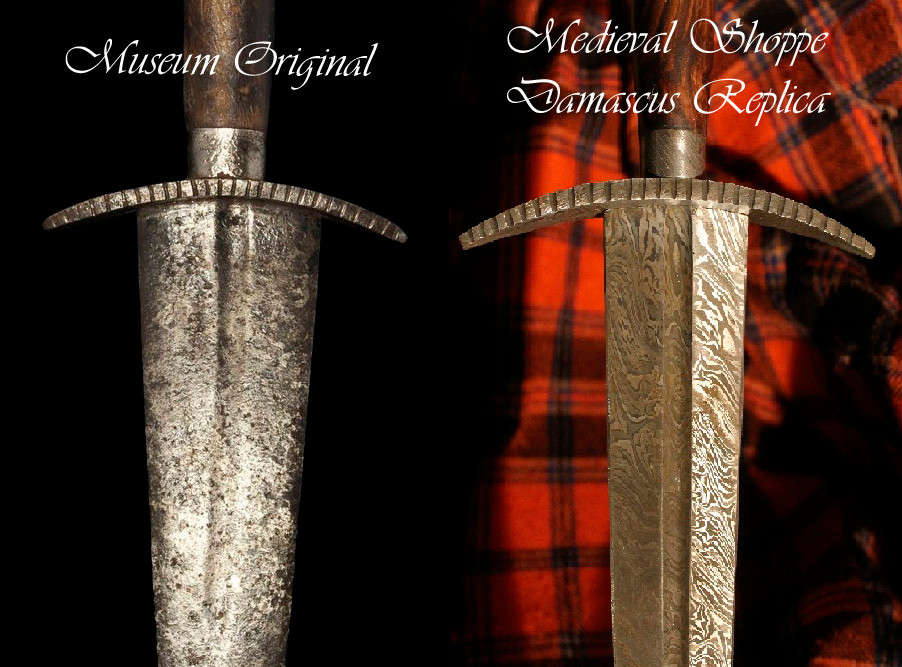 Edingburgh Castle Late 15th Century Dagger