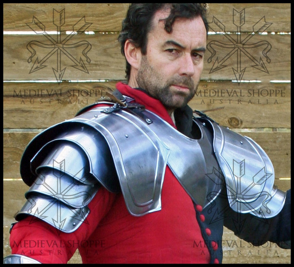 Medieval Shoulder Armour