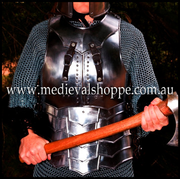 Cuirass with Faulds & Detachable Gorget