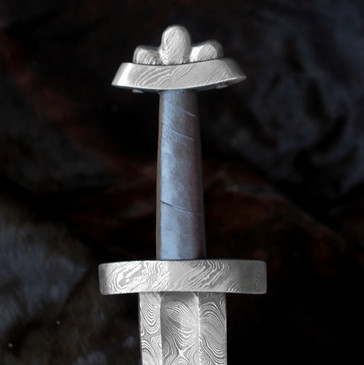 Hillside Forge Pattern Welded Type 6 Viking Sword (with leather scabbard)