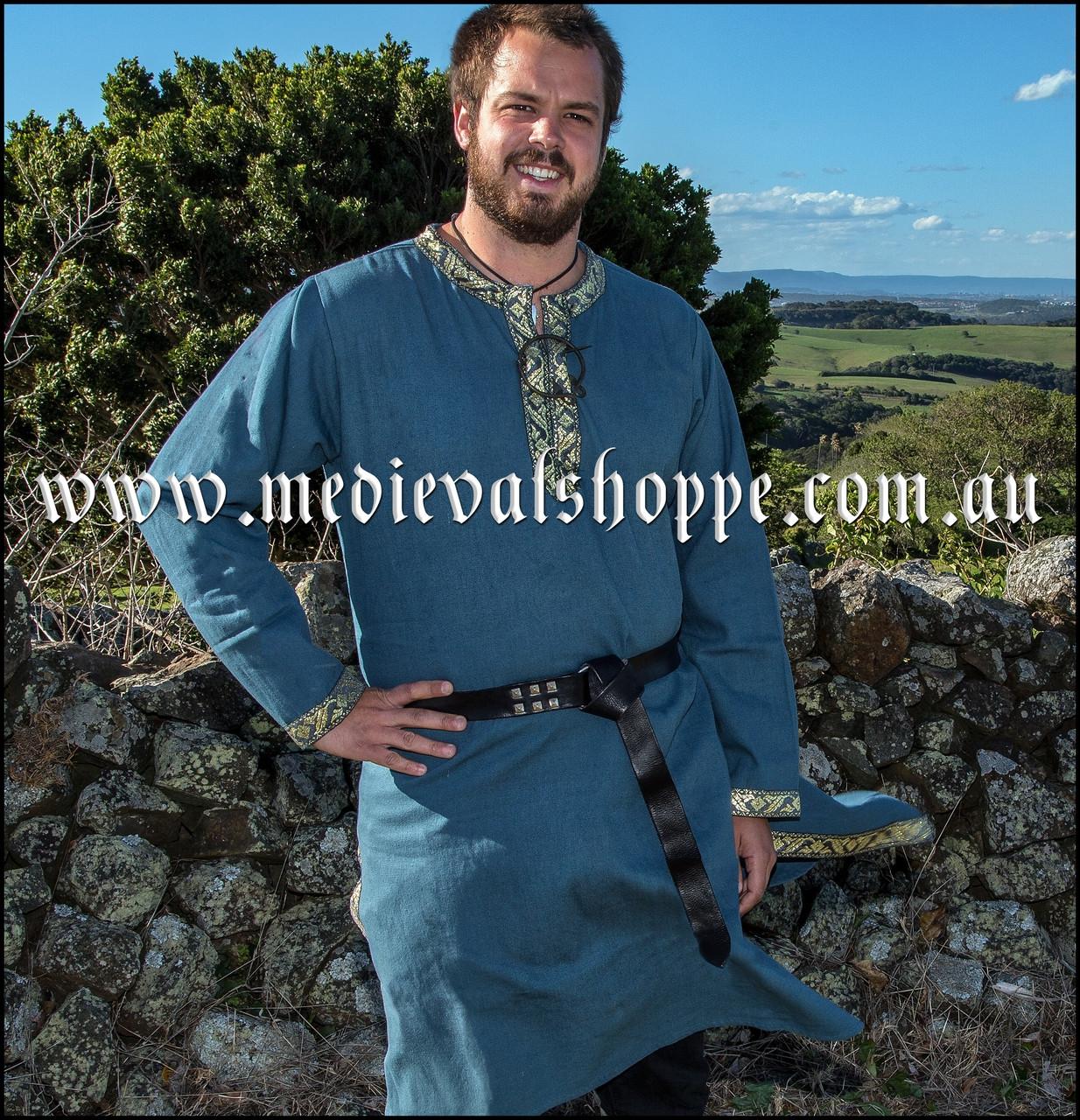 Blue Viking Tunic